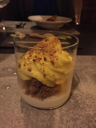 Incredibly light and fluffy mango dessert