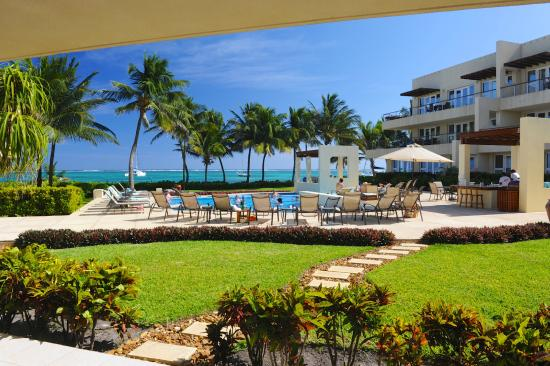The Phoenix Resort: View from a 1st floor Suite towards the Caribbean