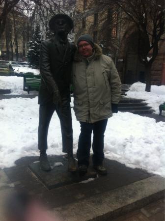 Panikovski Monument: Nice place ;-)