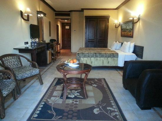 Africana Hotel: Double Room 2 single beds