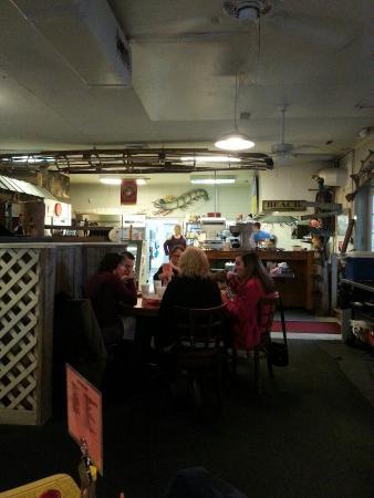 T.W. Graham & Company Seafood Restaurant: Kitchen