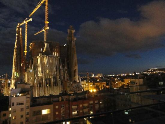 Top Floor Terrace View Picture Of Ayre Hotel Rosellon Barcelona