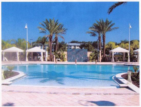 Monumental Hotel Orlando : Zero entrace pool