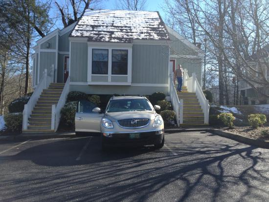 Townhouse Parking Picture Of Bluegreen Vacations