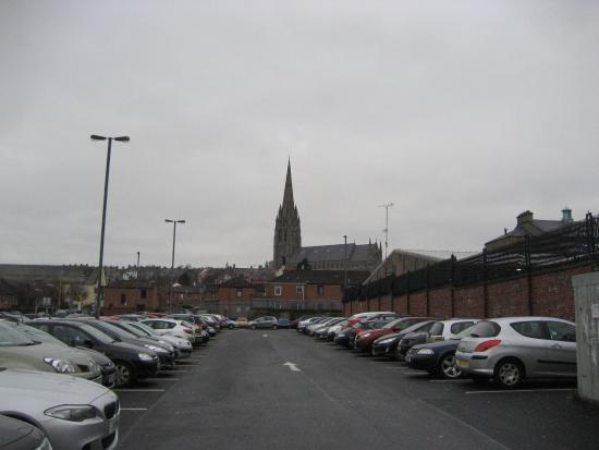 St. Eugene's Cathedral: From William St carpark