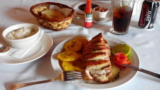 La Claraboya Restaurante: COSTILLA DE CERDO PREMIUM