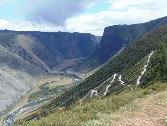 Ulagan, Rusia: Перевал Кату-Ярык