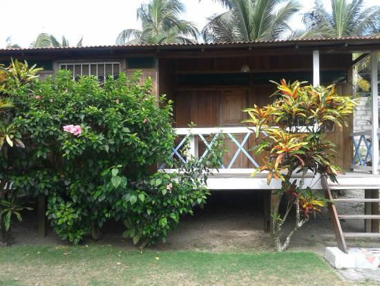 Cabanas Isla del Sol: Vista de la cabaña-habitación