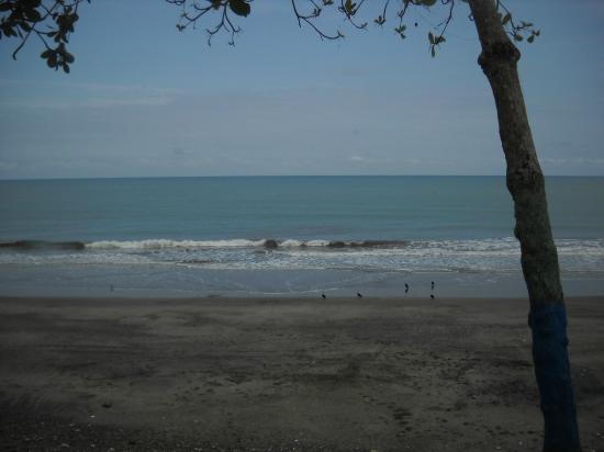 Cabanas Isla del Sol: La playa del hotel