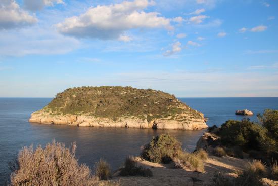 Xabia, Hiszpania: Eiland Portitxol