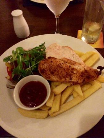 The Plough Inn: Spicy chicken breast