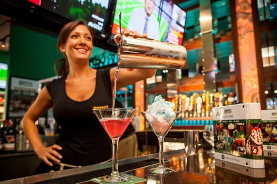 Duffy's Sports Grill: Cotton Candy Cosmo