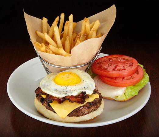 Duffy's Sports Grill: Hangover Burger