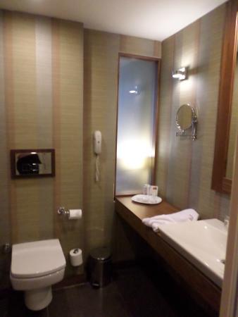 Adana Plaza Hotel : Bathroom view