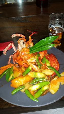 Chi : Sezchuan Lobster Plate