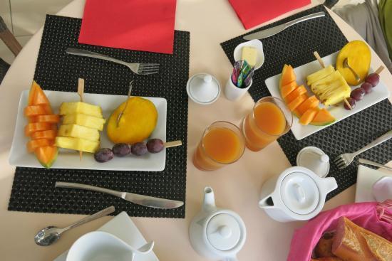 La Metisse : Le petit déjeuner