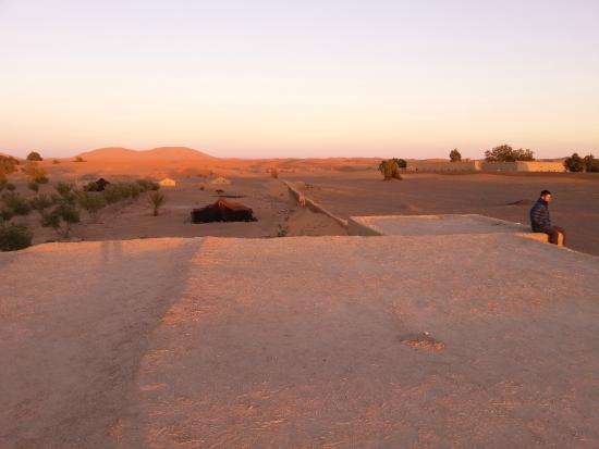 Auberge Africa: View from the roof of the accommodation