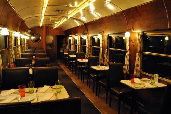To Treno sto Rouf - Wagon Restaurant
