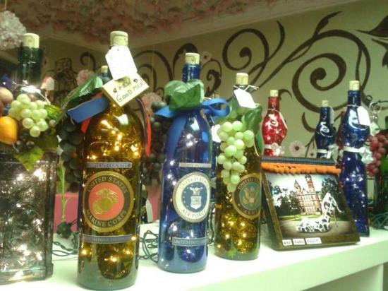 Decorative Wine Bottles Beauteous Lights In A Bottle In Military Sports Teams And Decorative Wine Design Inspiration