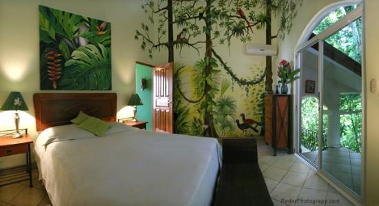 Shelter from the Storm : bedroom in Villa la Cuesta