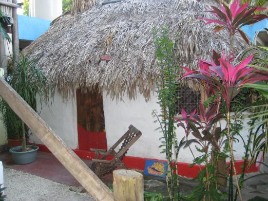 Aerolito Tulum: Casa Alux, the original building on the property, Mayan Casita, 1 open round room.