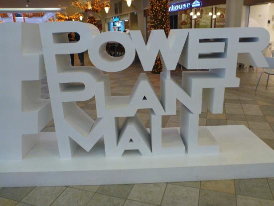 Power Plant Mall: Sign