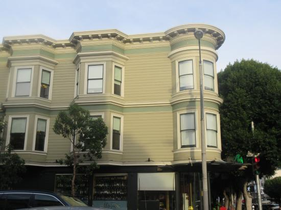 Hayes Valley - Building where Absinthe Restaurant is, San Francisco, Ca