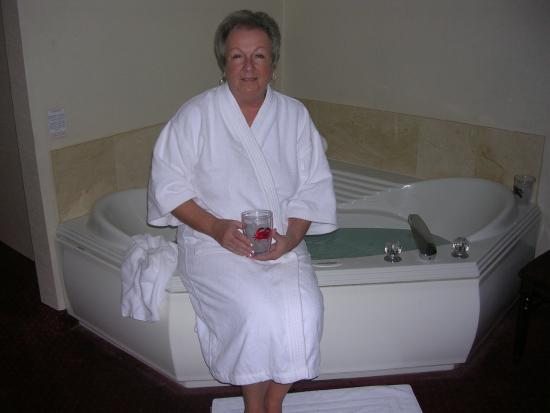 Hottubbing In King Jacuzzi Room Picture Of Grand Hotel Spa Ocean City Tripadvisor