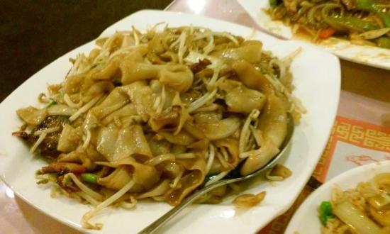 Mayflower Chinese Cuisine Bbq Roast Pork Chow Fun Without Gravy