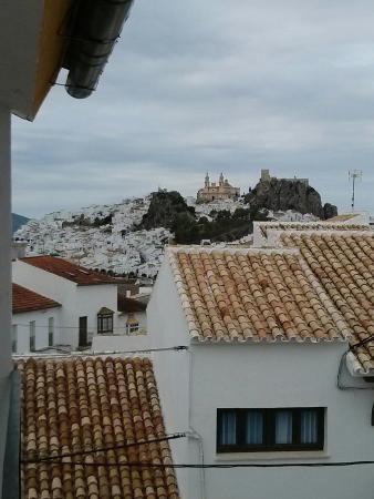 Hotel Sierra y Cal: View from balcony