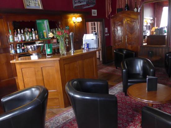 Small Bar Area Picture Of Best Western Hotel Montgomery Pontorson Tripadvisor