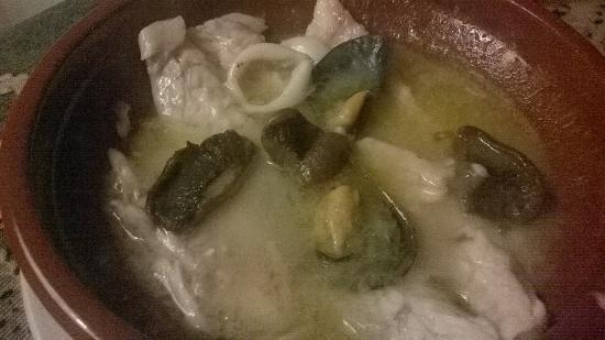 cassoleta de pescado
