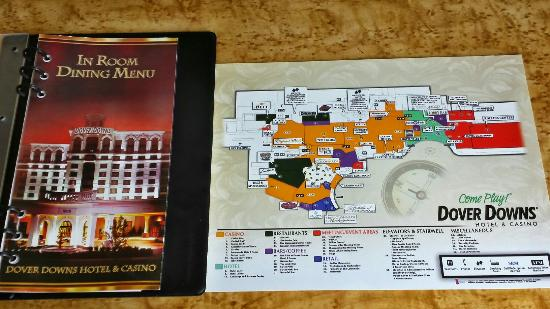 The map of the dover downs hotel and - Picture of Dover Downs ... Dover Raceway Map on
