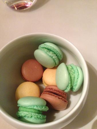 Alain Ducasse At The Dorchester Macarons For The Table For Dessert