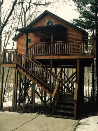 Pine Cove Lodging: Wild Cherry Treehouse Cabin