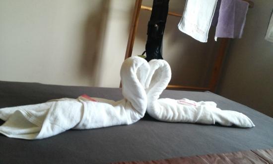 Nan Guest House: Towels