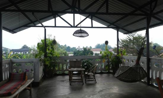 Nan Guest House: Views from the balcony
