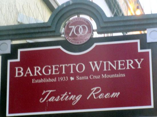 Bargetto Winery's Monterey Tasting Room
