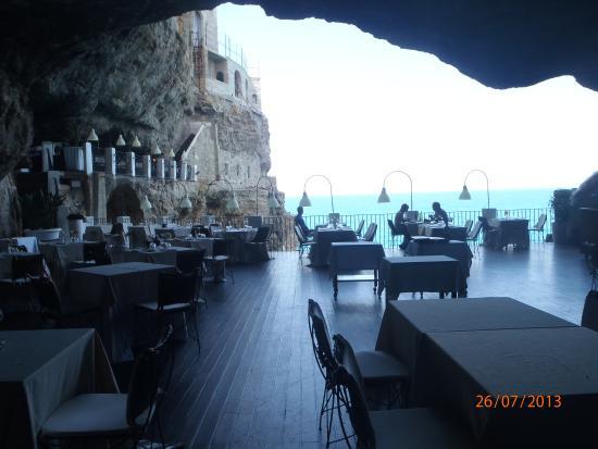 2 prato foto de ristorante grotta palazzese polignano for Grotta palazzese restaurant menu