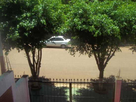 El Paraiso Apart Hotel : vista desde la ventana del hotel