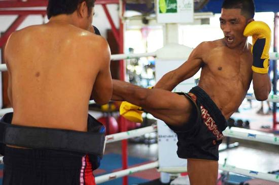 ‪Phangan Muay Thai and Fitness Gym‬