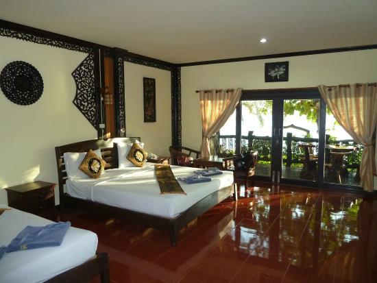 Phi Phi Paradise Pearl Resort: Bungalow P1 chambre