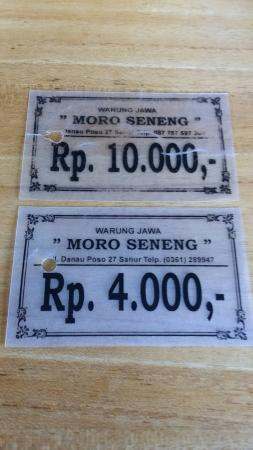 Warung Jawa Moro Seneng