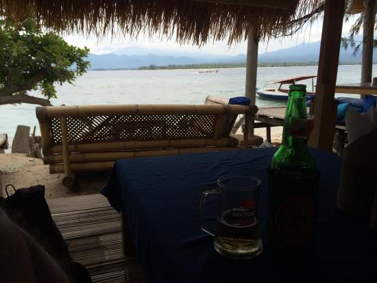 Gili Air Santay Restaurant: Just Relaxing...