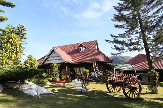 Hill Top Villa Resort Kalaw : Dining hall