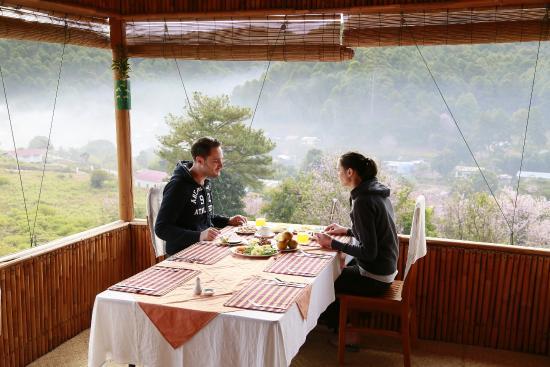 Hill Top Villa Resort Kalaw : Breakfast