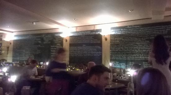 Kendells Bistro: menu board