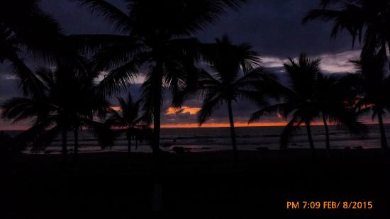 Majahua Palms : Sunset from Bungalow #3