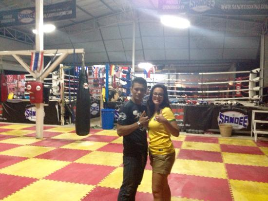 Sumalee Boxing Gym: Me and Kru Nin (the best of the best)