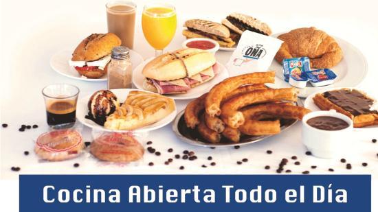 Restaurante Bar OÑA : Desayunos y Meriendas